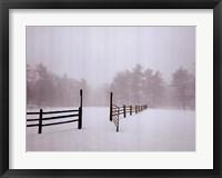 Framed White Fog #2