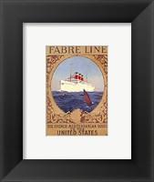 Framed Fabre Line (Card)