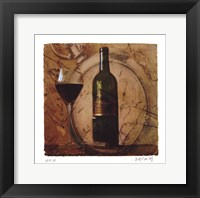 Framed Wine III