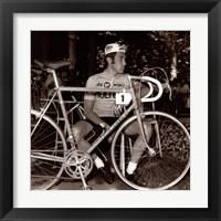 Framed Incomparable Eddy Merckx