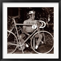 Framed Incomparable Eddy Merckx