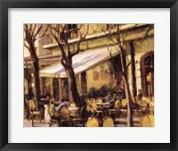Framed Sidewalk Cafe