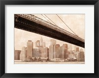 Golden Ages I Framed Print