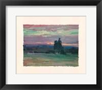 Framed Sunset II