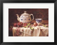 Framed Apples and Tea