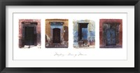 Framed Doors of Mexico