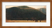 Framed Canyon Pasture