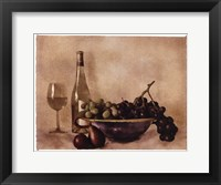 Framed Fruit And Wine I