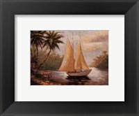Framed Setting Sail II