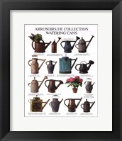 Framed Watering Cans