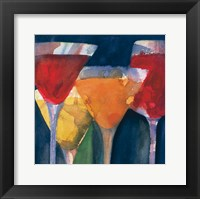Framed Four Mixed Drinks