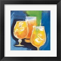 Framed Frosty Orange Cocktails
