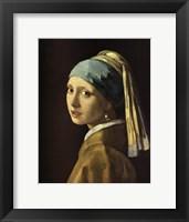 Framed Head Of A Girl