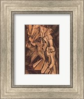 Framed Nude Descending a Staircase #2