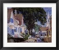 Framed Street In Provincetown