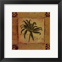 Framed Bamboo Palm