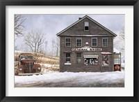 Framed General Store