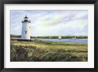 Framed Lighthouse Scene