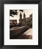 Framed Central Park Bridges I