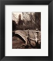 Framed Central Park Bridges II