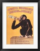 Framed Anisetta Evangelisti