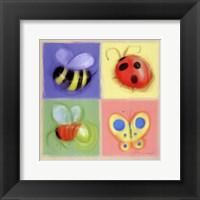 Framed 4 Bug Panel