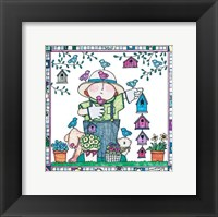 Framed Garden Kids 5