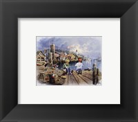 Framed Fishing Docks