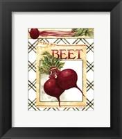 Framed Beets