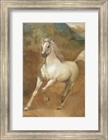 Framed White Knight