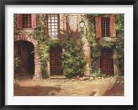 Framed Villa Frascati