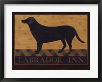 Framed Labrador Inn