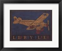 Liberty Flyer Framed Print