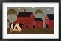 Framed Nellie's Barn