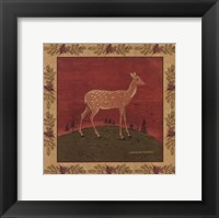 Framed Folk Fawn