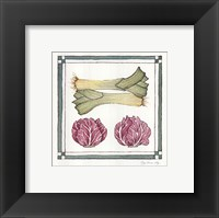Framed Leak Cabbage