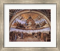 Framed Dispute at the Eucharist