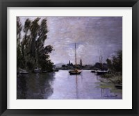 Framed Argenteuil (single boat)