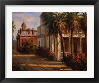 Framed Casa De Palmera
