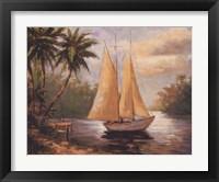Framed Setting Sail II