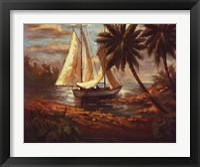 Framed Setting Sail I