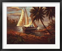 Framed Setting Sail I