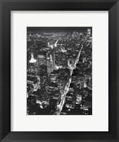 Manhattan (full bleed) Framed Print