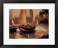 Journey's End II Framed Print