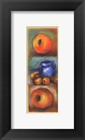 Framed Peach Panel