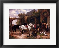 Before The Hunt I Framed Print