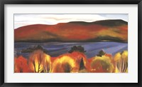 Framed Lake George, Autumn, 1927