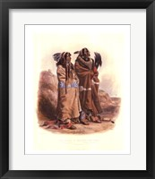 Framed Mandan Indians