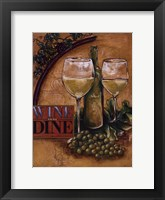 Framed Wine and Dine II
