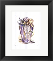 Framed Lavender Water